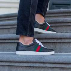 0f2b34295ad GUCCI | NEW ARRIVALS | DERODELOPER.COM The Gucci ace signature low top  sneaker for the fall / winter 2016 collection. Available Online & In Store  FOR MORE ...