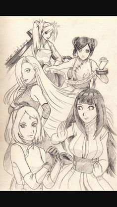 Hinata, Tenten, Temari, Sakura e Ino, cinco garotas que moram juntas … #humor # Humor # amreading # books # wattpad