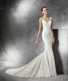 Maricel, vestido de novia original estilo sirena