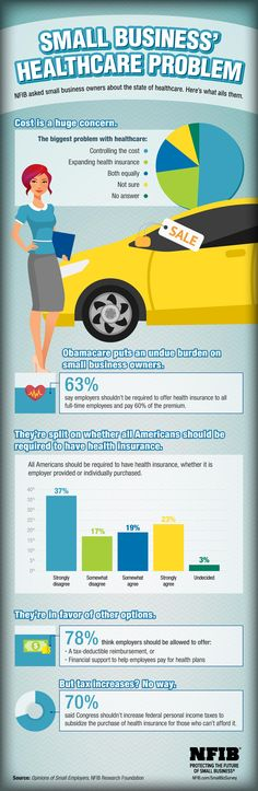 INFOGRAPHIC: What Small Business Thinks About Healthcare | NFIB