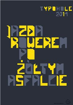 Typohole. Fix-It font. Letters. Experiment on Behance, Free -font =check it!
