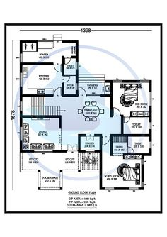 2bhk House Plan, Model House Plan, House Layout Plans, Duplex House Plans, House Layouts, House Floor Plans, 30x40 House Plans, 4 Bedroom House Plans, Unique House Plans