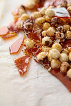 caramelized huzelnuts