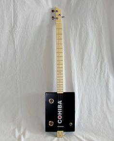 Cigar Box Guitar - 3 String - Cohiba