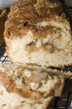 "Snickerdoodle Bread...what could be better than a warm slice of this ""cinnamony"" goodness!"
