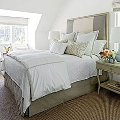 Mature Guest Bedroom-I love the carpet in this bedroom.  Now, to find out what it is?