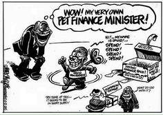 Zuma's Christmas gift (to himself!) - by Mark Wiggett for Herald Port Elizabeth