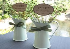 Wood Wedding Escort Cards - Garden Themed Wooden Placecards  (Set of 8) on Etsy, $16.41 AUD