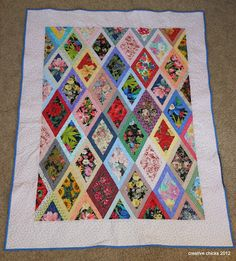 Creative Chicks: The Mad Hatter {a finished quilt}