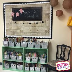 As you may have read in my last  post, it was time for some MAJOR change in my classroom decor this year! Here's a little peek into my farm...