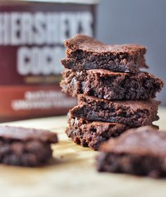 If you are looking for a Clean Eating Brownies Recipe that really hits the spot, look no further. We use Hershey's cocoa in this recipe and you'll love it!