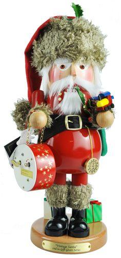 German Vintage Santa Nutcracker http://www.oktoberfesthaus.com