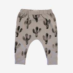 Cactus Print Harem Pants