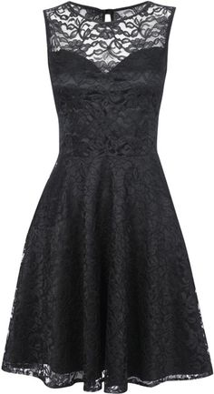 I think the lace has a nice, classic look. I'd definitely have them wear a rose corsage if my girls had this dress.
