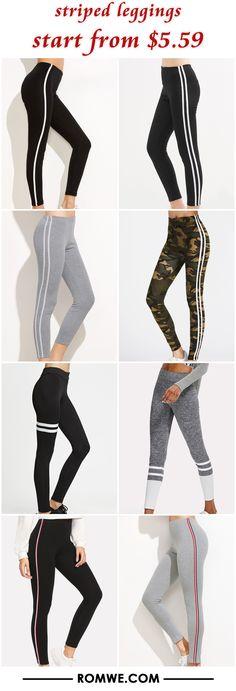 striped leggings from $5.59