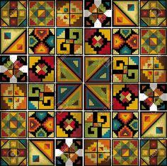 10842294-American-culture-background-Vector-illustration-Stock-Vector-inca-mayan-indian.jpg (1300×1295)