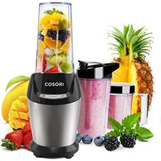 COSORI Blender 1500W for Shakes and Smoothies Professional Heavy Duty Smooth...