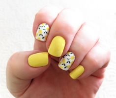 Lemon Yellow For Spring : RedditLaqueristas