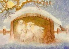 Jula Scholzen-Gnad - Schafe im Winter