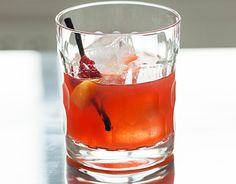 Pickled peaches, raspberries and vanilla beans are combined in this sweet and delicious bourbon cocktail. Pour over ice and enjoy. Try…