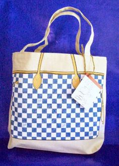Eco Friendly Tote-London Nautical. LOVE this shopping tote! A designer looking bag, but its a canvas tote!