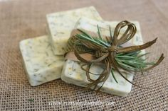 How to Make Homemade Goats Milk Soap:  Rosemary-Citrus Soap.  This is so easy you will thank me!  :)