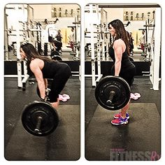 The stiff-leg deadlift movement is at your hip joint, focusing all your strength in your hamstrings and glutes. You can incorporate one of these forms of stiff-leg deadlifts into your hamstring day, then switch the following week to the opposite exercise. Make sure you perform your workout with correct form to get the desired results and improve your physique. #legs
