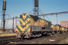 RailPictures.Net Photo: CNW 1691 Chicago & North Western Railroad FM H16-66 at Melrose Park, Illinois by Marty Bernard