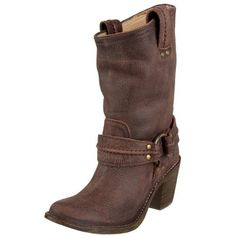 Amazon.com: FRYE Women's Carmen Harness Short Boot: Frye Shoes: Shoes  These are SO COOL!!