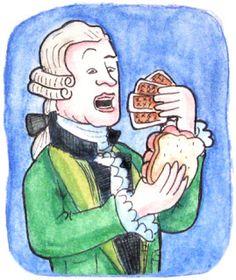 Comer y jugar pero sin manchar: el por qué del sandwich ;)