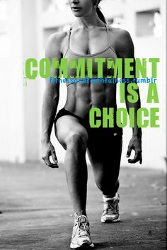 Commit. Commit. Commit... motivation!