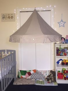 IKEA charmtroll canopy - baby and toddler bedroom / reading corner den