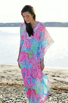 Nothing says summer like the Lilly Pulitzer Coleman maxi dress