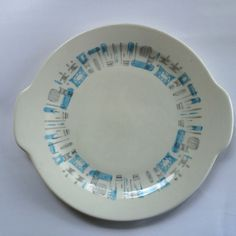 Blue Heaven Royal China https://www.etsy.com/listing/244450428/mcm-royal-china-blue-heaven-cake-plate