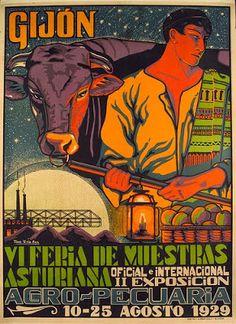 Feria de Muestras de Gijón, 1929