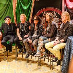 Aerosmith ~ May 2014 Rock And Roll Bands, Rock Bands, Rock Hits, Top 40 Hits, American Group, Elevator Music, Steven Tyler Aerosmith, Classic Rock And Roll, The Jam Band