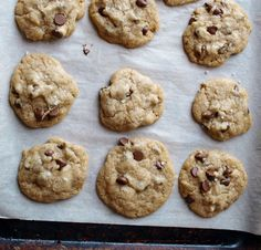 Vegan, Gluten-Free Chocolate Chip Cookies