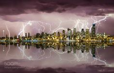 Seattle Mirror City by ShaunPeterson