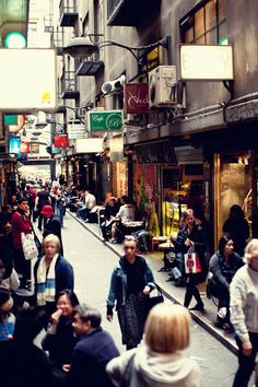 Melbourne Laneways!! Definitely the place for the greatest coffee :)