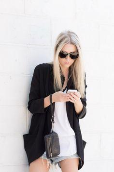 figtny.com | outfit • 68 Aritzia Blazer and Shorts #Fallforus