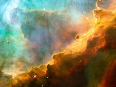 Omega Nebula: Close-Up of a Stellar Nursery