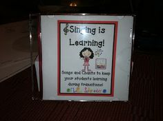 Singing is Learning CD Link photo We use the Prove It song all the time in Reading.  Prove it with details!