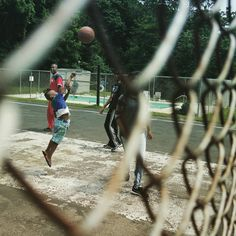 Soul in The Hole #PentaxQ #QS1 #Michigan  #Street #Basketball #Family #JustDoIt #Jump #Photographer