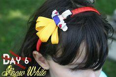 Snow White Disney Princess Inspired Ribbon Sculpture Patterns