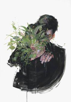 silent metamorphosis - agnes cecile