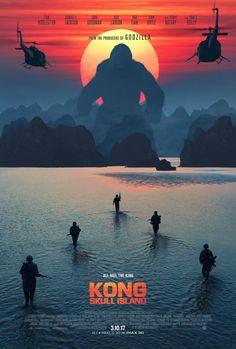 Watch the new trailer for Kong: Skull Island, the King Kong reboot starring Brie Larson, Tom Hiddleston, Samuel L. Jackson, and John Goodman. Hindi Movies, New Movies, Movies To Watch, Good Movies, Movies Online, 2017 Movies, Latest Movies, Kong Skull Island Movies, King Kong Skull Island