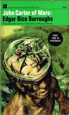 Edgar Rice Burroughs: John Carter of Mars (Four Square 1967) Josh Kirby