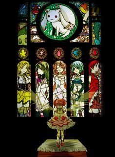 Tags: Anime, Mahou Shoujo Madoka☆Magica, Akemi Homura, Kaname Madoka, Miki Sayaka