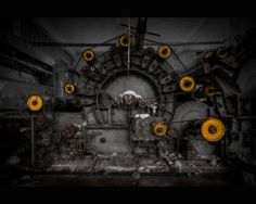 Mechanical juggler by AbandonedZone.deviantart.com on @deviantART