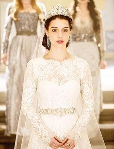 Reign [TV Show] Photo: Mary's Wedding Future Wedding Dress
